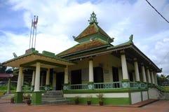 Мечеть Kampung Ayer Barok в Малакке стоковые изображения rf