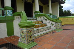 Мечеть Kampung Ayer Barok в Малакке стоковые фотографии rf
