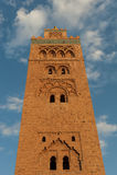 Мечеть Koutoubia в Marrakech стоковая фотография
