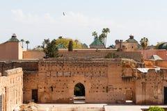 Мечеть Koutoubia - самая большая мечеть в Marrakech, Марокко, Африке стоковое изображение