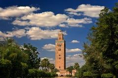 мечеть koutoubia Стоковые Изображения