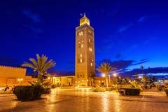 Мечеть Koutoubia Стоковое Изображение