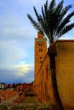 Мечеть Koutoubia, Marrakech, Марокко Стоковые Изображения