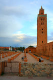 Мечеть Koutoubia, Marrakech, Марокко Стоковая Фотография RF