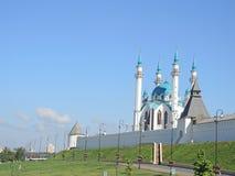 Мечеть Kul Sharif в Казани, Татарстане, России Стоковое Фото