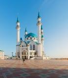 Мечеть Kul Sharif Город Казани, Россия стоковое изображение rf