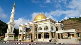 Мечеть Lojing в гористых местностях Камерона, Малайзия Стоковое Изображение RF
