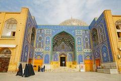 Мечеть Lotfollah квадрата имама Isfahan Стоковая Фотография