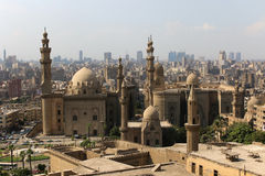 Мечеть-Madrassa султана Хасана Каир Egipt Стоковая Фотография RF