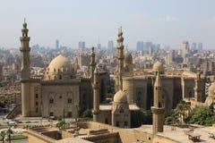 Мечеть-Madrassa султана Хасана Каир Egipt Стоковое фото RF