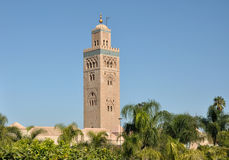мечеть marrakech koutoubia Стоковые Изображения