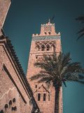 мечеть marrakesh koutoubia Стоковое Изображение