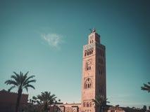 мечеть marrakesh koutoubia Стоковая Фотография