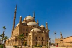 Мечеть Mohamed Али, цитадель Saladin Каира, Египта Стоковое Фото