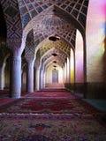 Мечеть Molk ol Nasir, Шираз, Иран стоковое изображение rf