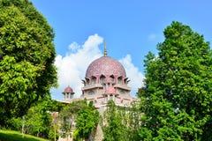 Мечеть Putra Стоковые Изображения