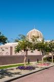 Мечеть Qaboos султана грандиозная, Muscat, Оман Стоковое Изображение