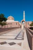 Мечеть Qaboos султана грандиозная, Muscat, Оман Стоковая Фотография RF