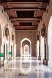 Мечеть Qaboos султана грандиозная, Muscat, Оман Стоковое фото RF
