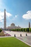 Мечеть Qaboos султана, Muscat, Оман Стоковые Фотографии RF