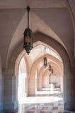 Мечеть Qaboos султана, Muscat, Оман Стоковые Изображения RF