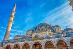 мечеть s leymaniye стоковое изображение