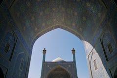 Мечеть Shah (имама) в Isfahan, Иране Стоковые Изображения RF