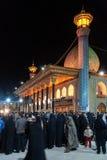 Мечеть Tasua и Ashura - Shah Cheragh Стоковые Фотографии RF