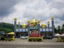 Мечеть Tengku Ahmad, Jerantut, Pahang Стоковая Фотография RF