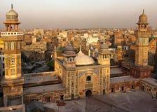 Мечеть Wazir Khan, Лахор Пакистан стоковые фото