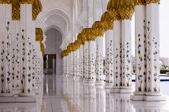 Мечеть Zayed султана Стоковое Изображение