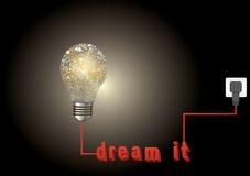 Мечтайте оно Стоковая Фотография