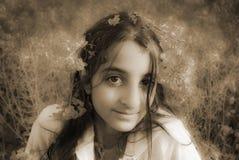 мечтательная девушка Стоковые Изображения