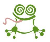 мечтательная лягушка Стоковое Изображение
