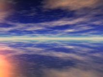 мечтательное небо Стоковое фото RF