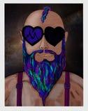 Мечтательная борода Стоковые Фото