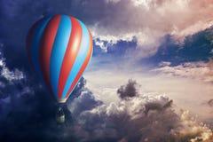 Мечтательная езда воздушного шара Стоковая Фотография