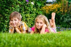 Мечтательные дети Стоковое фото RF