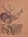мечтательный человек Стоковая Фотография RF