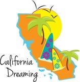 Мечтать Калифорнии Стоковое Фото