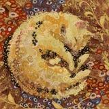 Мечтать кот Стоковое Фото