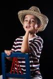 мечтать мальчика Стоковое фото RF