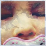 Мечтать младенец Стоковая Фотография