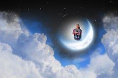 Мечтать на ноче Стоковые Фото