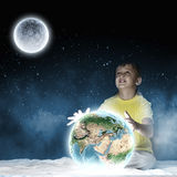 Мечтать ночи Стоковая Фотография