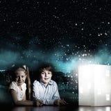 Мечтать ночи Стоковое Изображение