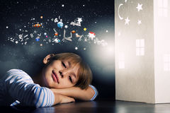 Мечтать ночи стоковые изображения rf
