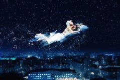 Мечтать ночи стоковая фотография rf