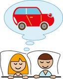Мечтать о автомобиле. Стоковые Фотографии RF