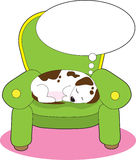 мечтать собаки Стоковые Изображения